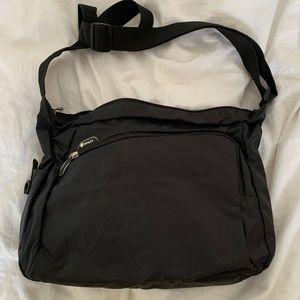 2 for $25 Diviley Black Nylon Messenger Bag